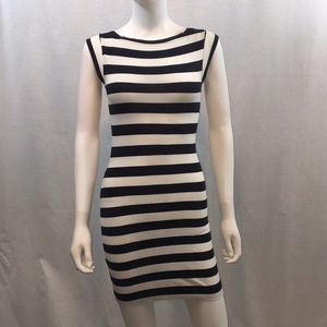 UEC striped dress by French Connection